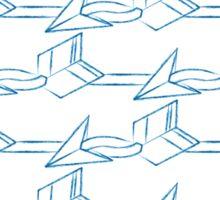 Paper Arrows Sticker