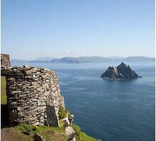 Skellig Islands Rep. Ireland. by kytefoto