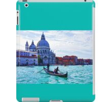 Impressions of Venice - Traghetto Crossing the Grand Canal iPad Case/Skin