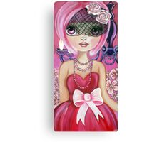 """Pretty in Pink"" Canvas Print"