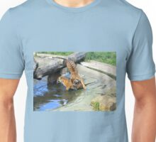 If I jump on you will you pay attention? Unisex T-Shirt