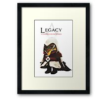 Minion Creed Framed Print