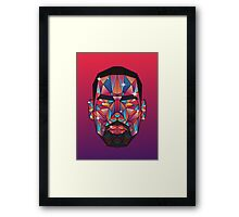 LeBron (centered) Framed Print