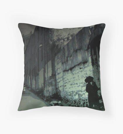 Sydney Streets Throw Pillow