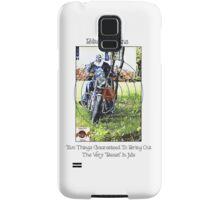 Bikes & Guns Samsung Galaxy Case/Skin