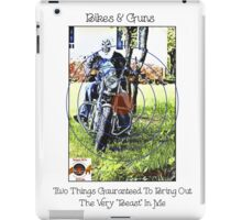 Bikes & Guns iPad Case/Skin