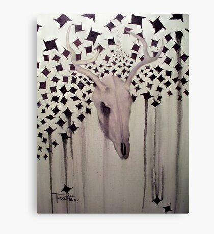 Deer Slayer Canvas Print