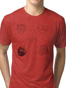 Matty Healy Tattoos Doodles Tri-blend T-Shirt