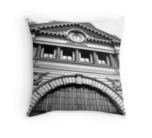 Flinders Street Station Throw Pillow