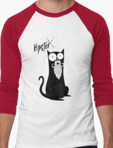 Hipster Beard Men's Baseball ¾ T-Shirt