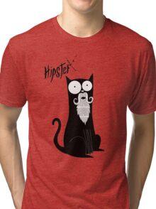 Hipster Beard Tri-blend T-Shirt