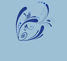 Cool Fish Grunge Twirls T-Shirt