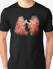 Real lungs - Respiratory system T-Shirt