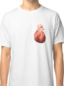 Awesome Real Heart Classic T-Shirt