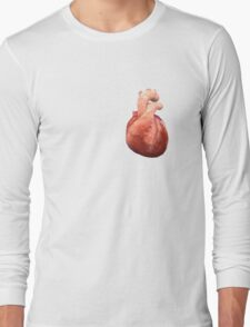 Awesome Real Heart Long Sleeve T-Shirt