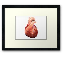 Awesome Real Heart Framed Print