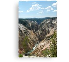 Painted Hillside Canvas Print
