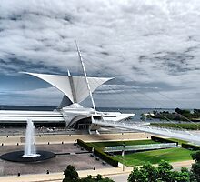 Milwaukee Art Museum by James Watkins