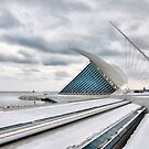 Milwaukee Art Museum (II) by James Watkins