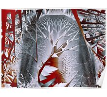 Trees I: Silvery Forest Poster