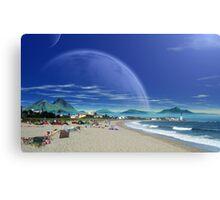 Saltus Bay Point Canvas Print