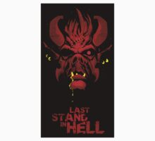 Last Stand in Hell - the Hunter Demon by Simon Sherry