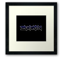 1980's video games: Zaxxon Framed Print
