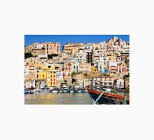 Town of Sciacca, Sicily, viewed from the port Unisex T-Shirt