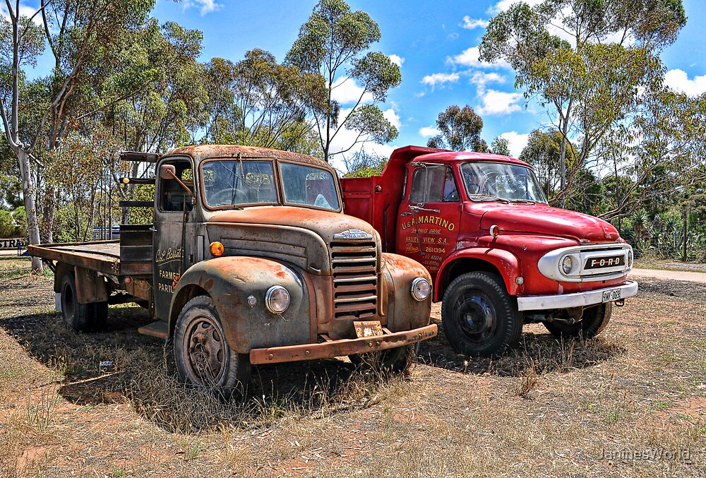 A Couple Of Trucks by JaninesWorld
