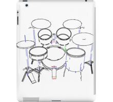 Drum Kit: Marker Drawing iPad Case/Skin