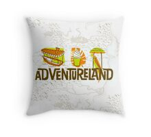 Adventureland Throw Pillow