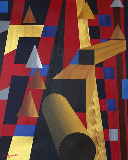 """WOODEN PROGRESSIONS 6 (2010)"" by Dennis Knecht"