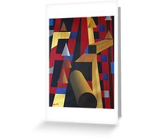 """WOODEN PROGRESSIONS 6 (2010)"" Greeting Card"