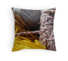 Knit Song II Throw Pillow