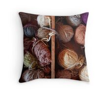 Knit Song III Throw Pillow