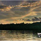 Rowboats at Dusk by Wayne King