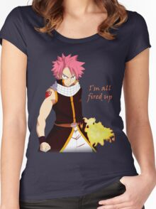 Natsu Fired Up Women's Fitted Scoop T-Shirt
