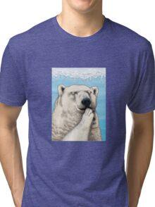 Polar prayer Tri-blend T-Shirt