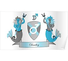 Demiboy Crest Poster