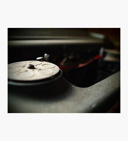 Old Typewriter take 2 Photographic Print