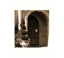 Italian architecture Art Print