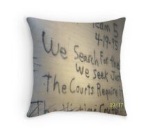 OKC Bombing Memorial Throw Pillow