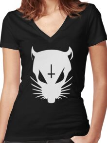 Die Antwoord Rats Rule Women's Fitted V-Neck T-Shirt