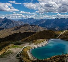 The Easy Way Down Coronet Peak by Kristin Repsher