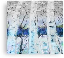 Winter Trees - Collaboration Canvas Print