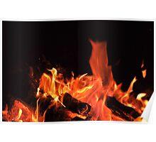 "Flame Art ""Phoenix Rising"" Poster"