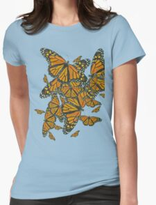 Monarch Butterflies - Migration Womens Fitted T-Shirt