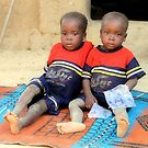 Twins 10. Remote village-Nigeria by joshuatree2