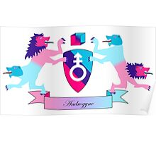 Androgyne Crest Poster