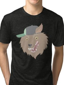 THE Party God Wolf Tri-blend T-Shirt